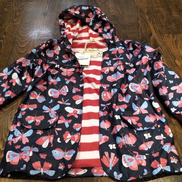 Hatley Raincoat size 6